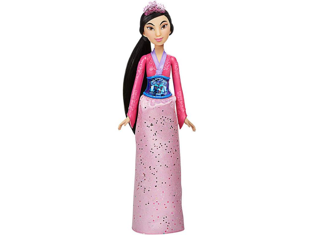 Muñeca Princesas Disney Mulan Brillo Real Hasbro F0905