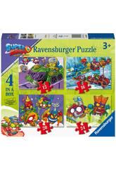 4 Pack Superzings Ravensburger Puzzles 3053