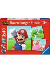 Casse-tête Super Mario 3x49 Pièces Ravensburguer 5186