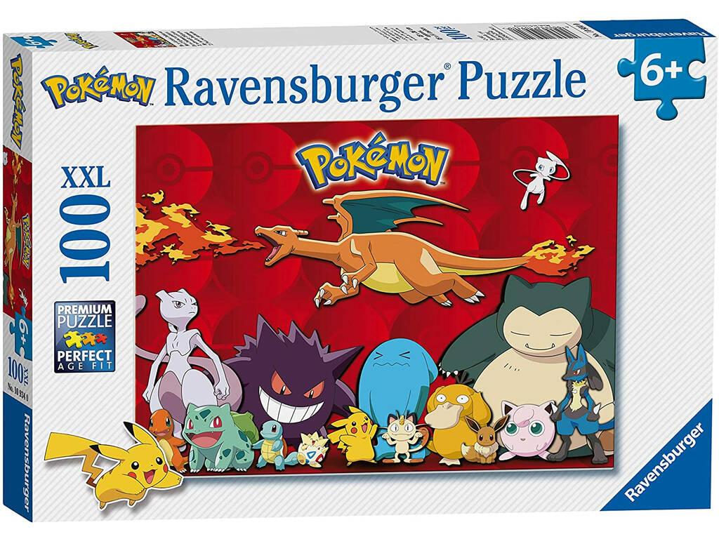 Puzzle XXL 100 Piezas Pokémon Ravensburguer 10934