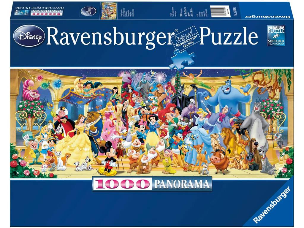 Puzzle Panorama Disney 1.000 Piezas Ravensburguer 15109