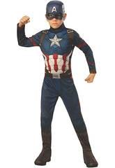 Captain America Endgame Classic Costume Toddler T-L Rubies 700647-L