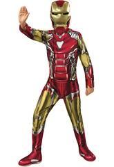Iron Man Endgame Classic Costume pour enfants T-M Rubies 700649-M