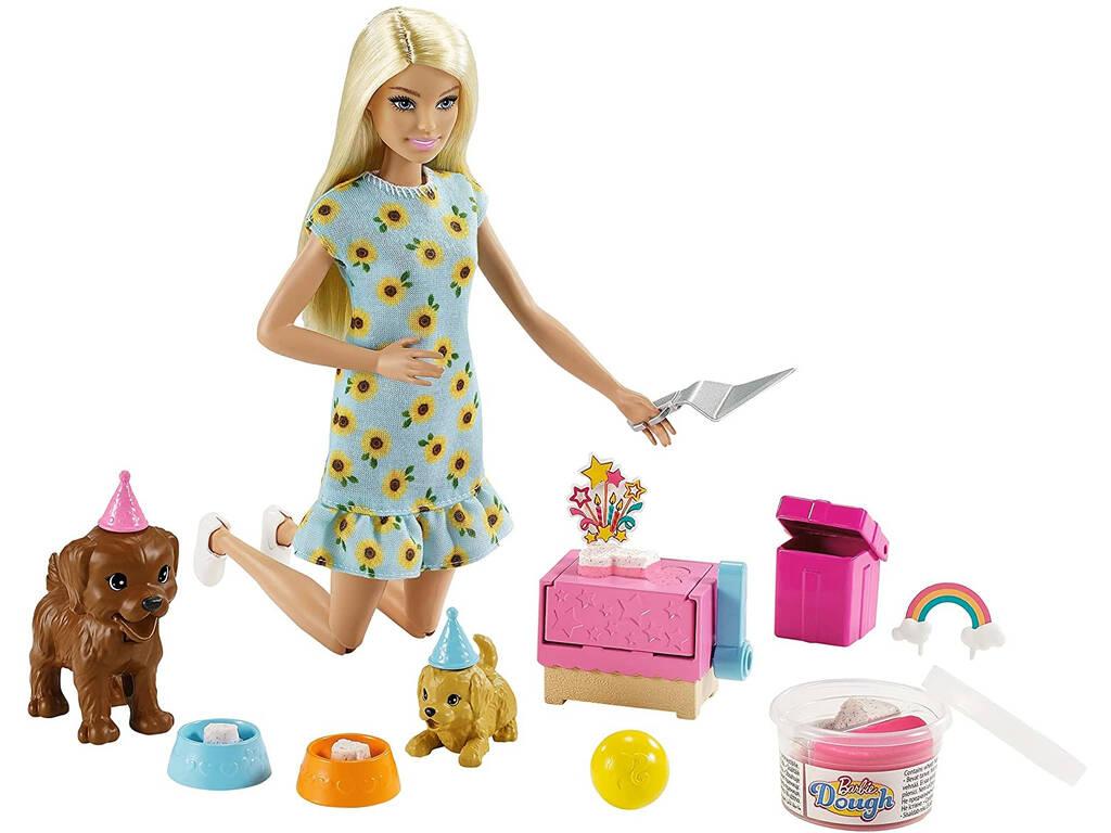 Barbie Fiesta de Perritos Mattel GXV75