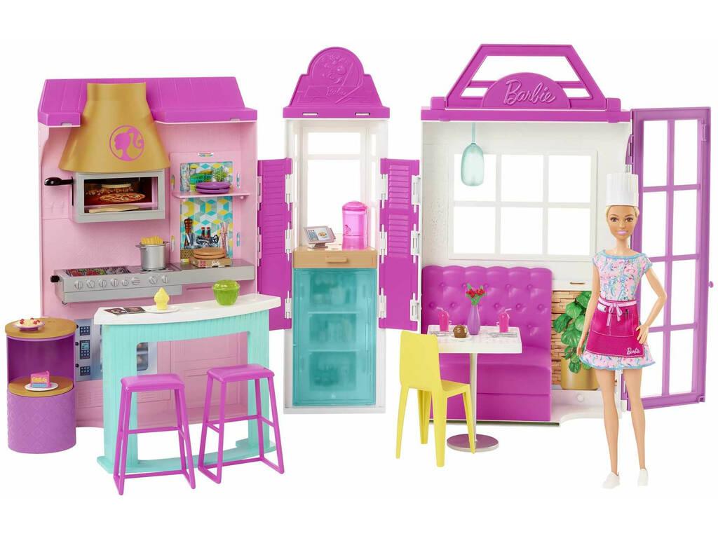Barbie Restaurante Cook and Grill Mattel HBB91