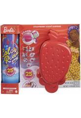 Poupée Barbie Révélation des couleurs avec mousse de fraise Mattel GTN18