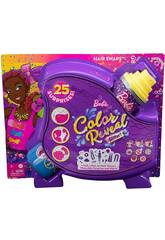 Barbie Color Reveal Hairstyles Schleife Puppe Mattel HBG40