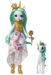 Enchantimals Queen Unity Doll and Stepper Pet Mattel GYJ13