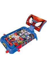Spiderman Pinball Electronico con luces y sonidos Lexibook JG610NI