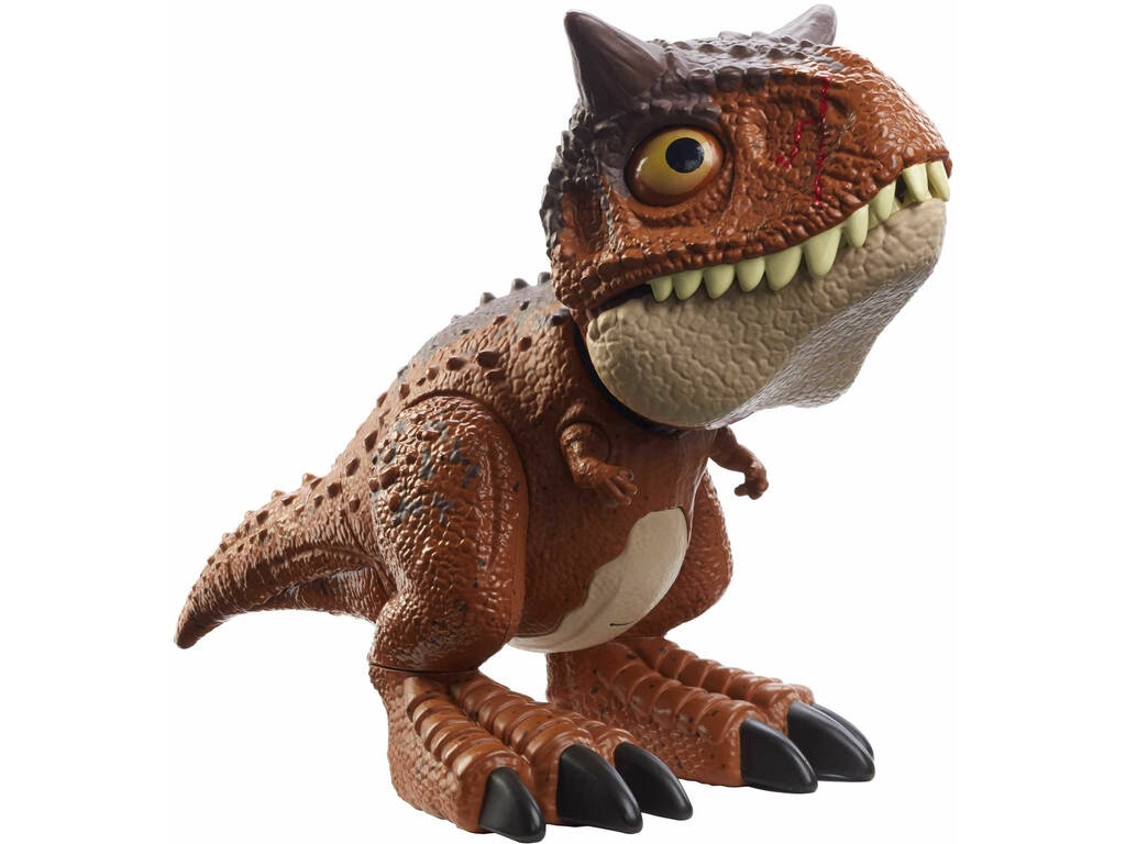 Jurassic World Bebé Carnotaurus Mordedor Mattel HBY84