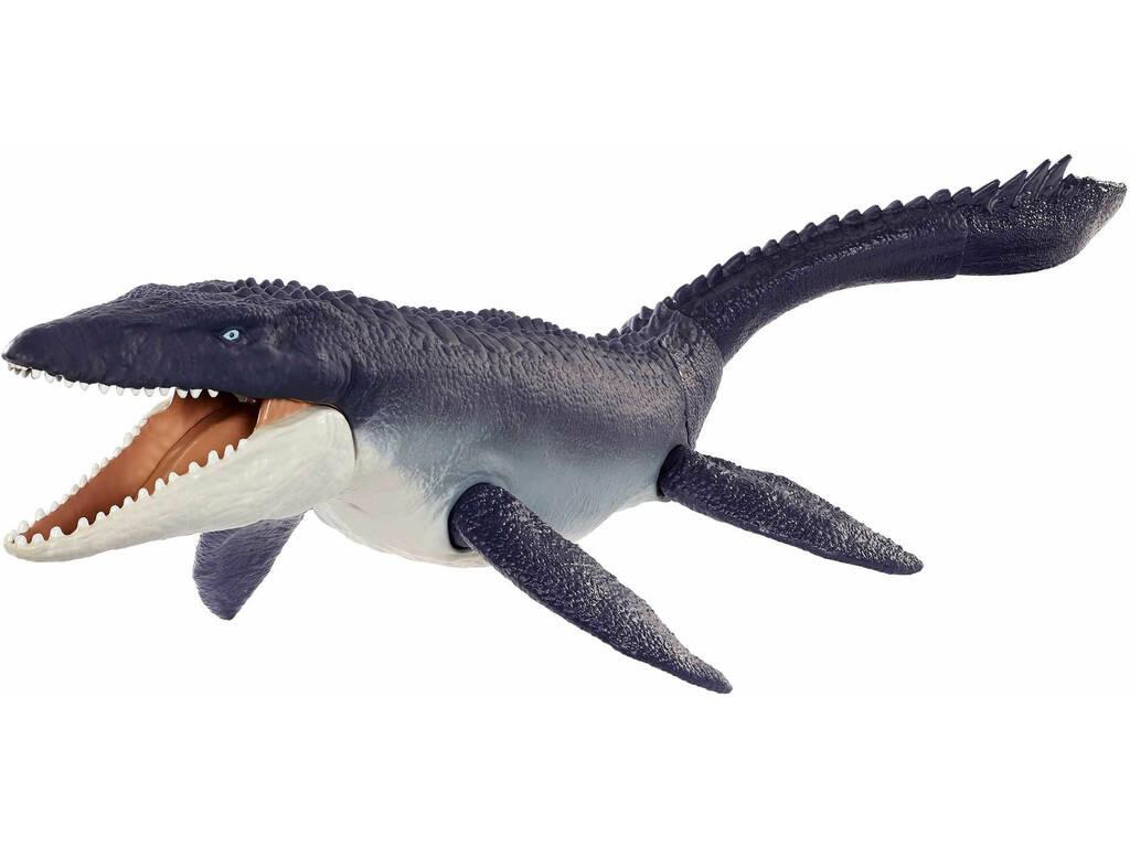 Jurassic World Mosasaurus Defensor del Océano Mattel GXC09