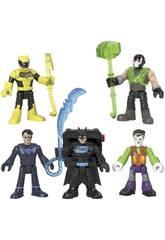 Imaginext Batman Pack 5 Figuras Bat Tech Mattel GXD67