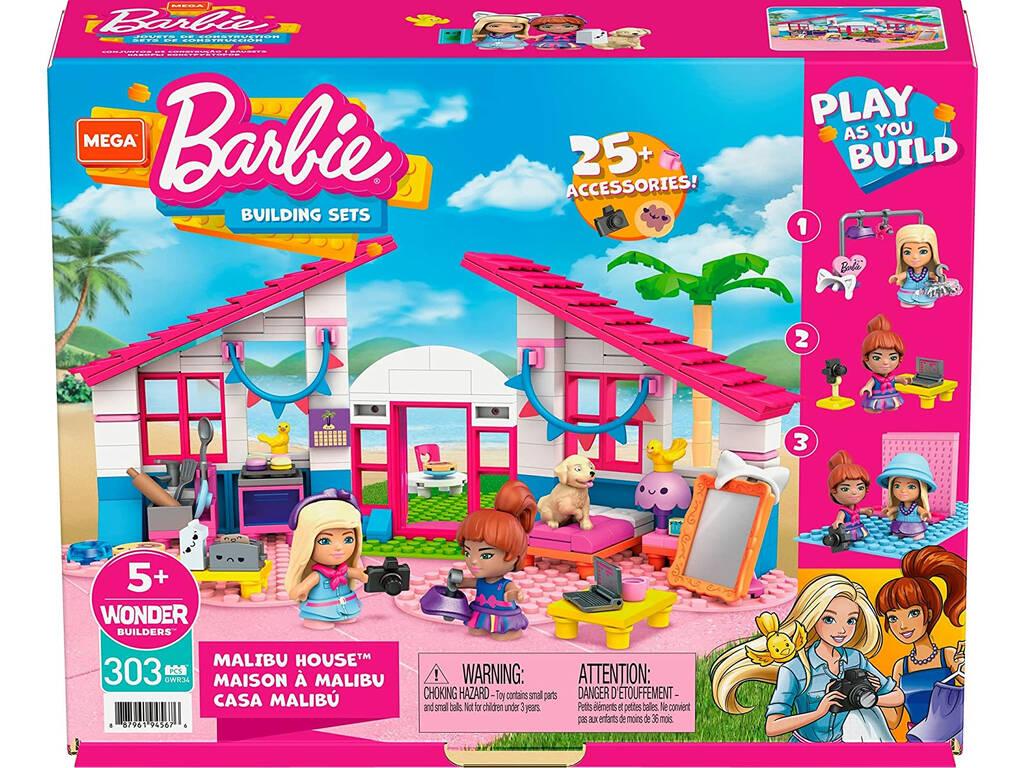 Mega Construx Barbie Casa de Malibú Mattel GWR34