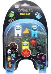 Among Us Pack 5 Figuras Bizak 6411 2041