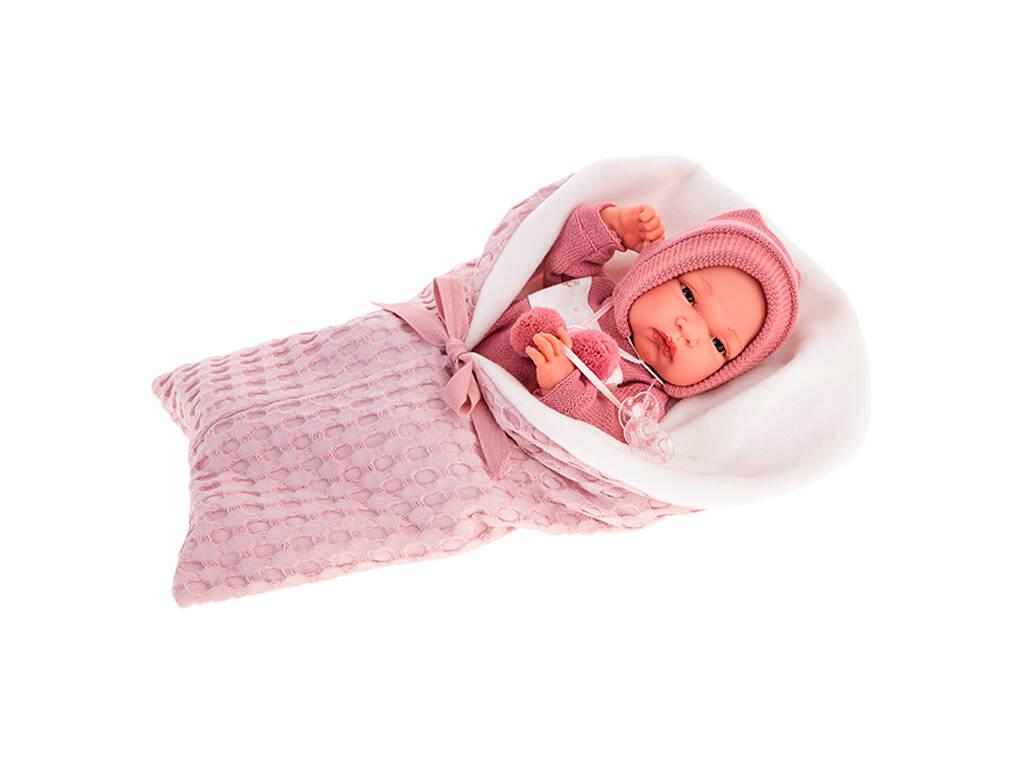 Muñeca Baby Toneta Saco Lila 33 cm. Antonio Juan 60145