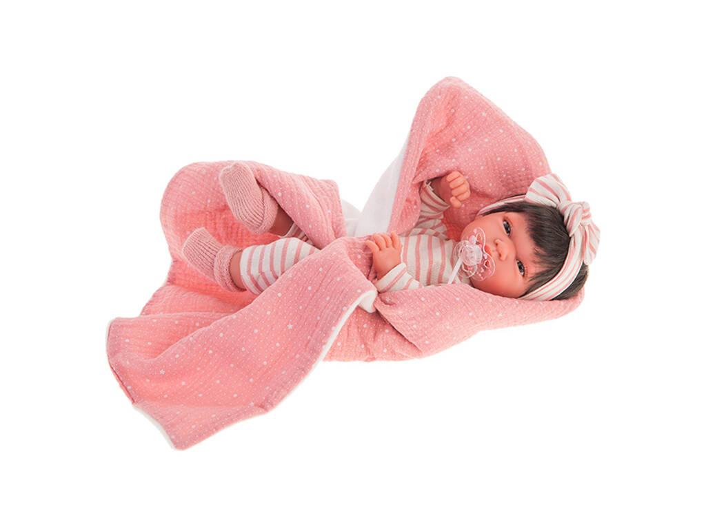Muñeca Baby Toneta Manta 33 cm. Antonio Juan 60146