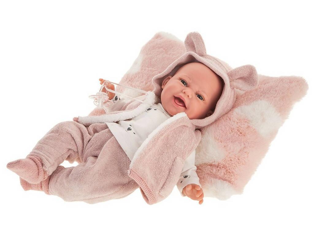 Muñeca Baby Clara Chaleco 34 cm. Antonio Juan 70150