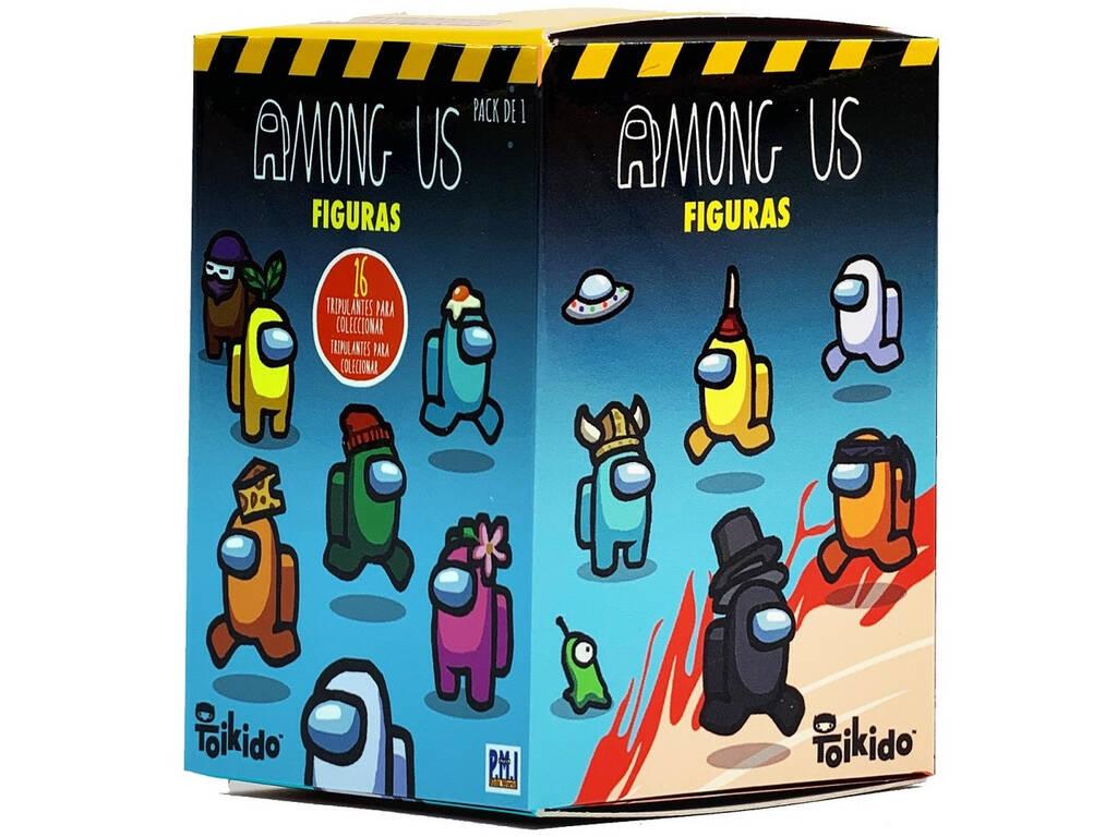 Among Us Pack 1 Figura Caja Sorpresa Bizak 6411 2007