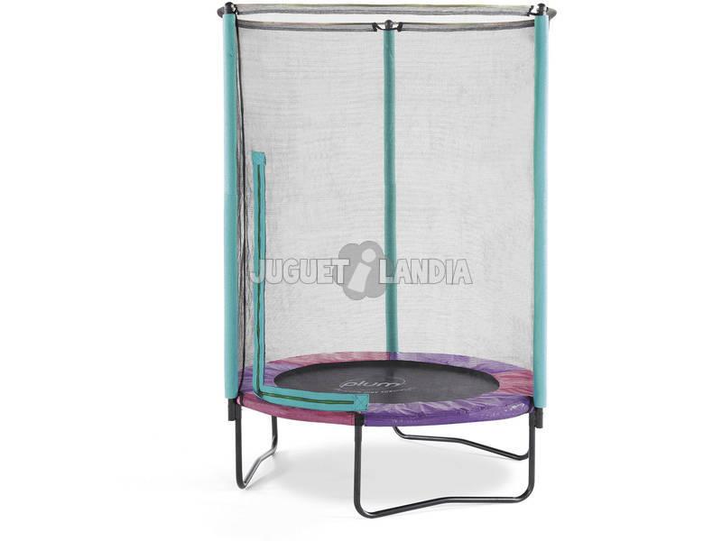 Trampoline Junior de 180x140x140 cm. Plum 30200