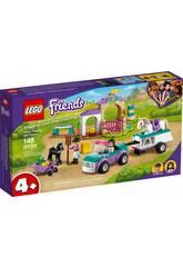 Lego Friends Entrenamiento y Remolque Equestre Lego 41441