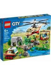 Lego City Rescate de la Fauna Salvaje: Operación 60302