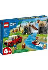 Lego City Rescate de la Fauna Salvaje: Todoterreno 60301
