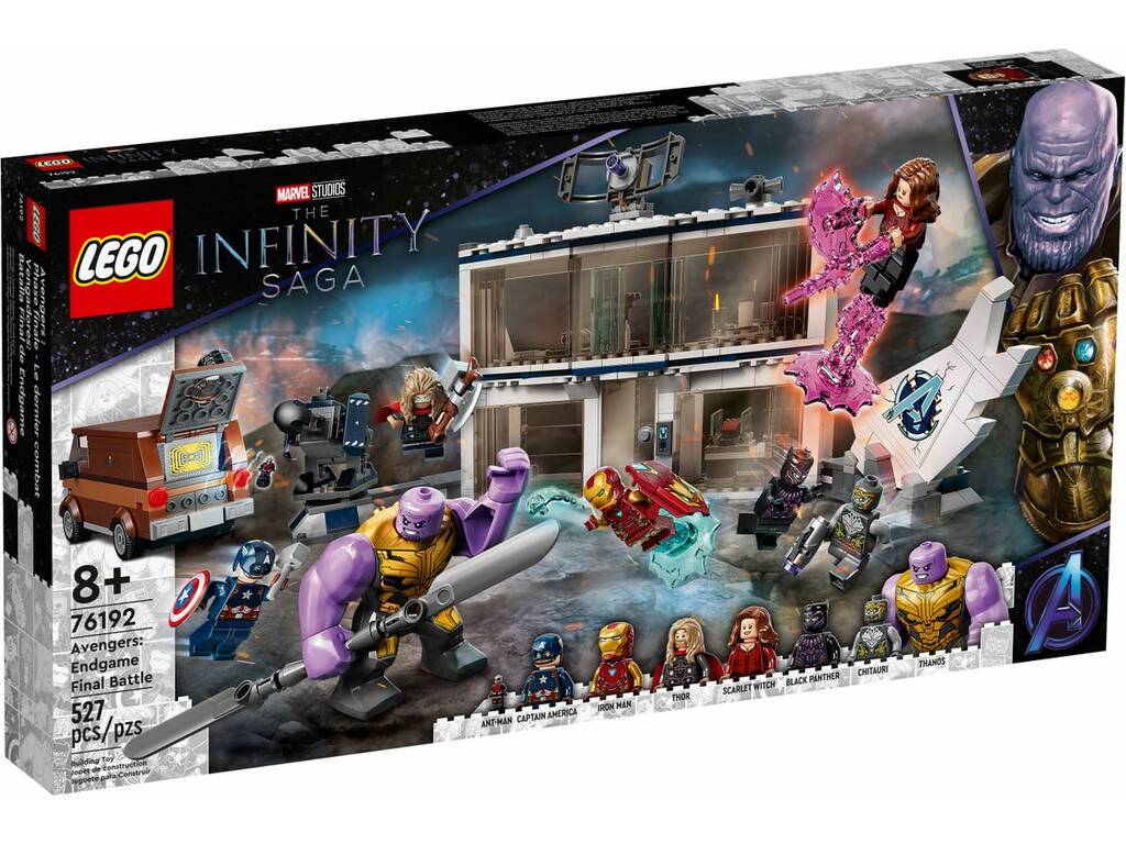 Lego Marvel Vengadores: Batalla Final de Endgame 76192