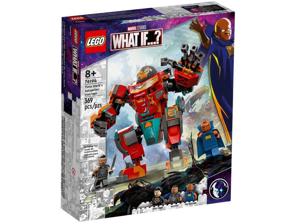 Lego Marvel What If...? Iron Man Sakaariano de Tony Stark 76194