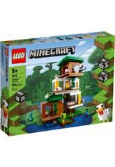 Lego Minecraft La Casa del Arbol Moderna 21174