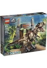 Lego Jurassic World Jurassic Park T. Rex Chaos 75936