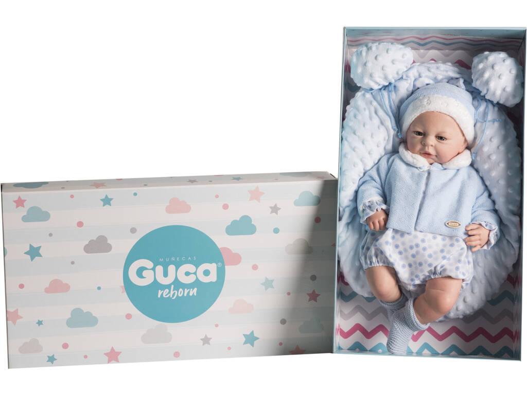 Muñeca Reborn Javier 46 Cm. Guca 10190