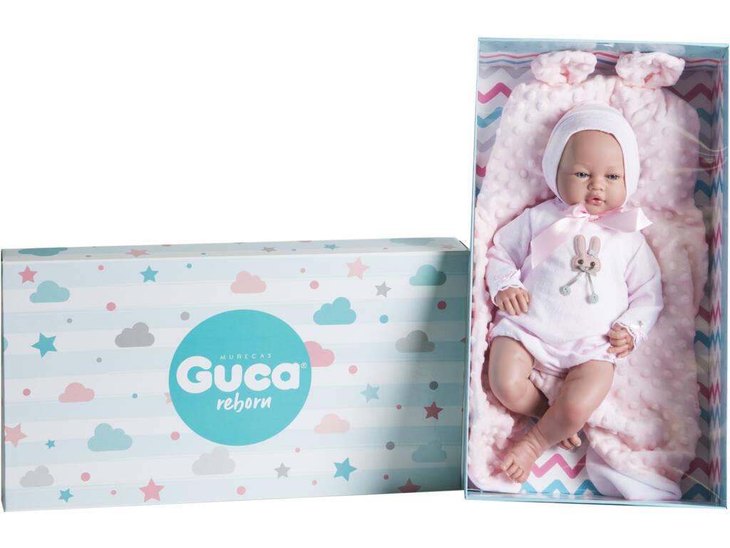 Muñeca Reborn Gema 46 Cm. Guca 10213