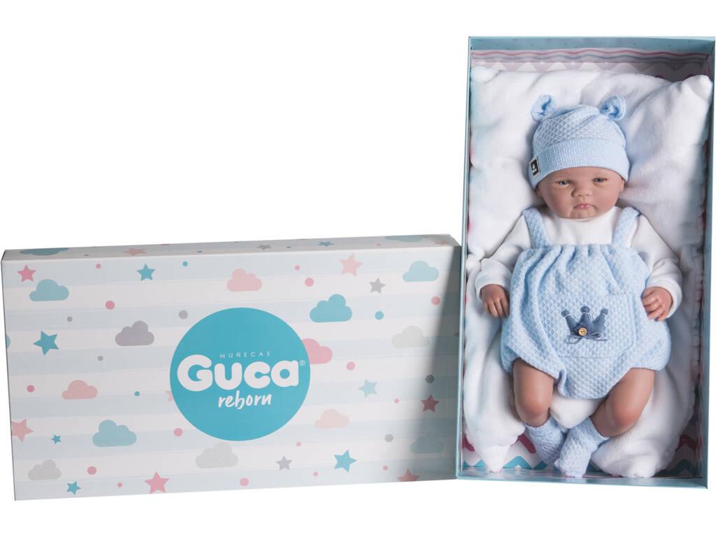 Muñeca Reborn Mario 46 Cm. Guca 18046