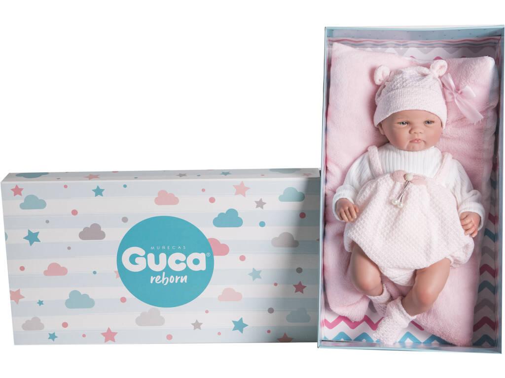 Muñeca Reborn Elsa 46 Cm. Guca 18047