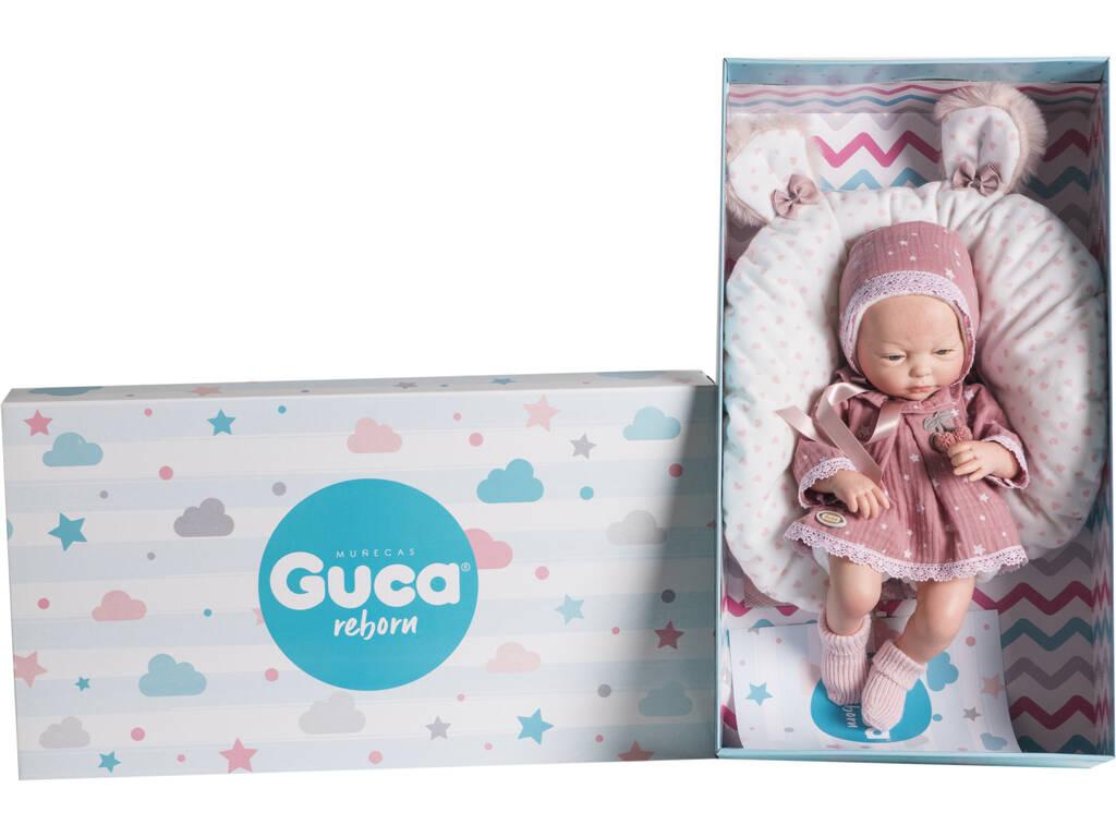 Muñeca Reborn Prematuro Carla 38 cm. Guca 10198
