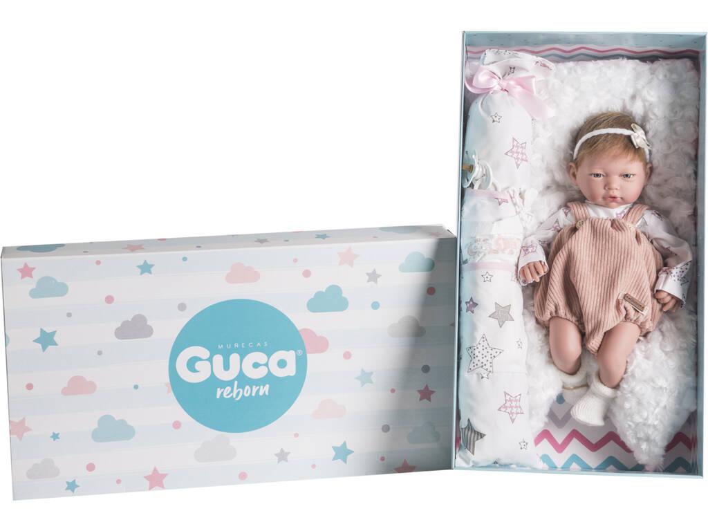 Muñeca Reborn Aitana 38 cm. Guca 10214