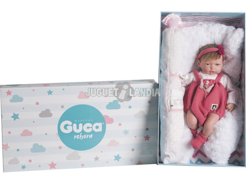 Muñeca Reborn Roma 38 cm. Guca 10216