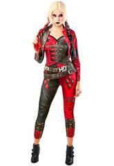 Disfraz Mujer Harley Quinn SQ2 Talla S Rubies 702703-S