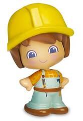 Mon Premier PinyPon Figure Professions Bâtisseur Famosa 700016627