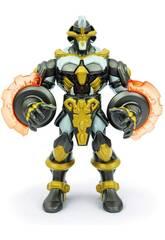 Gormiti Titan Elemental Figure avec Lumières et Sons 22 cm. Célèbre GRA10000