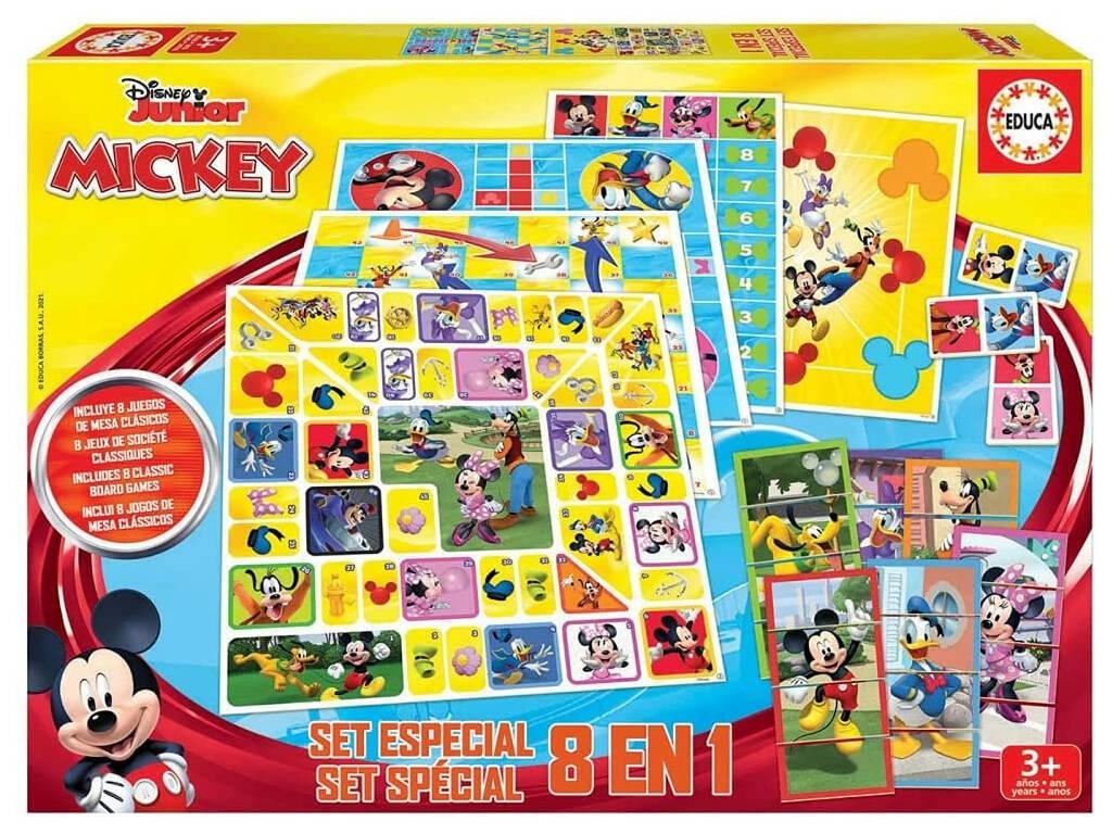 Mickey And Friends Set Especial 8 en 1 Educa 19100