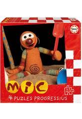 Puzzles Progressius Mic 6-9-12-16 Educa 19104