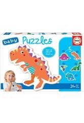 Puzzle bébé Dinosaures Educa 18873