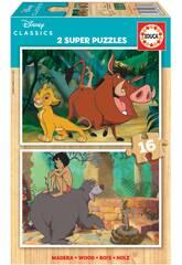 Madeira 2x16 Disney Classics Educa 18874 Puzzle