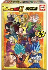 Puzzle 500 Dragon Ball Super Educa 19009