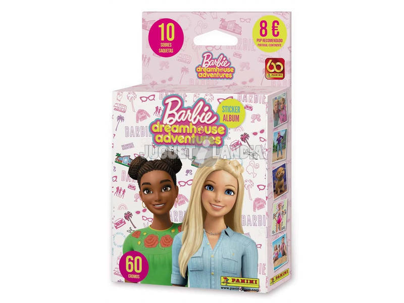 Barbie Dreamhouse Adventures Ecoblister 10 Sobres Panini 9788427872332