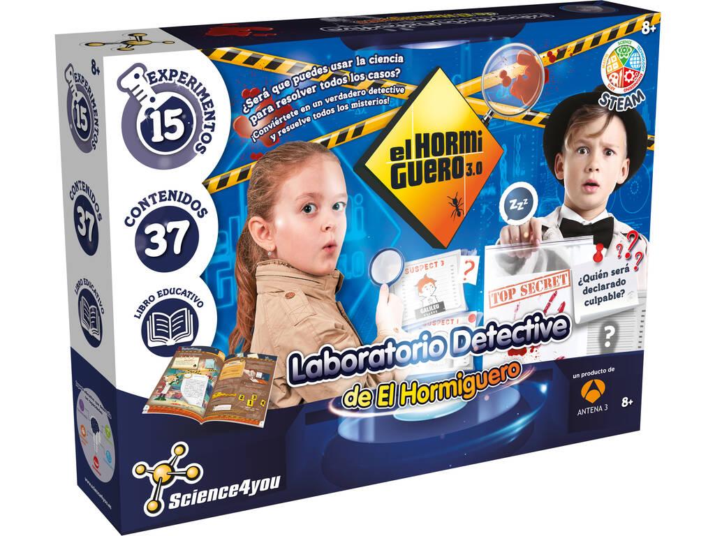 Laboratorio Detective de El Hormiguero Science4You 80003078