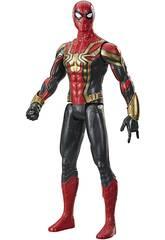 Spiderman Figura Titan 29 cm. Iron Spider Hasbro F1931