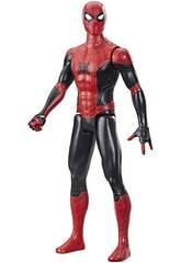 Figure Spider-Man Titan 29 cm. Costume rouge et noir Hasbro F2052