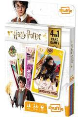 Harry Potter 4 en 1 - Jeu de palets pour enfants Fournier 10025070